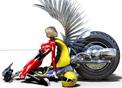 3 boyutlu motosiklet