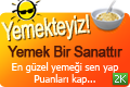 Yemekteyiz